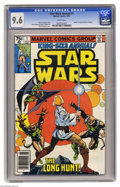 Bronze Age (1970-1979):Science Fiction, Star Wars Annual #1 (Marvel, 1979) CGC NM+ 9.6 White pages. WaltSimonson cover. Mike Vosburg and Steve Leialoha art. Overst...