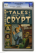 Golden Age (1938-1955):Horror, Tales From the Crypt #23 (EC, 1951) CGC VF+ 8.5 Cream to off-whitepages. Al Feldstein cover. Interior art by Feldstein, Gra...