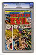 Bronze Age (1970-1979):Horror, Vault of Evil #7 (Marvel, 1973) CGC NM 9.4 Off-white to whitepages. Overstreet 2005 NM- 9.2 value = $16. CGC census 4/05: 1...