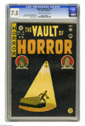 Golden Age (1938-1955):Horror, Vault of Horror #16 (EC, 1950) CGC VF- 7.5 Cream to off-whitepages. Johnny Craig cover. Craig, Graham Ingels, Jack Kamen, a...