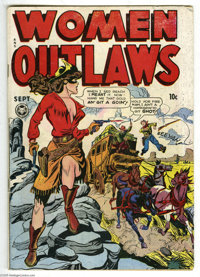 Women Outlaws #2 (Fox Features Syndicate, 1948) Condition: VG. Overstreet 2005 VG 4.0 value = $118