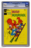Bronze Age (1970-1979):Cartoon Character, Woody Woodpecker #136 (Whitman, 1974) CGC NM+ 9.6 White pages.Price quoted is for the Gold Key edition. Overstreet 2005 NM-...