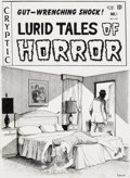 Original Comic Art:Covers, Jack Kamen Lurid Tales of Horror #1 Unpublished CoverOriginal Art (Cryptic, 1990s)....