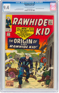 Silver Age (1956-1969):Western, Rawhide Kid #45 (Marvel, 1965) CGC NM 9.4 Off-white to whitepages....