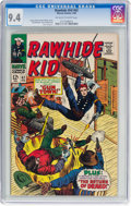 Silver Age (1956-1969):Western, Rawhide Kid #62 (Marvel, 1968) CGC NM 9.4 Off-white to white pages....