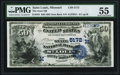 National Bank Notes:Missouri, Saint Louis, MO - $50 1882 Date Back Fr. 563 The State NB Ch. #(M)5172 PMG About Uncirculated 55.. ...