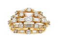 Estate Jewelry:Rings, Diamond, Platinum, Gold Ring, Oscar Heyman Bros.. ...