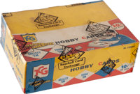 1959 Topps Baseball (4th Series) Cello Box With 36 Unopened Packs - Fresh to the Hobby Find!