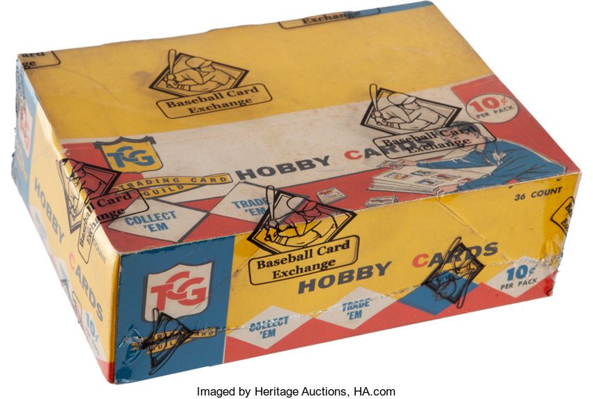 1959 Topps Baseball 4th Series Cello Box With 36 Unopened Packs