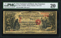 San Francisco, CA - $5 1870 Fr. 1136 The First National Gold Bank Ch. # 1741 PMG Very Fine 20.<