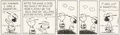Original Comic Art:Comic Strip Art, Charles Schulz Peanuts Daily Comic Strip Charlie Brown and Lucy Original Art dated 7-27-91 (United Feature Syndica...