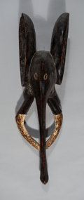 Tribal Art, A Cameroon Elephant Mask A Bali Kingdom, Bamenda R...