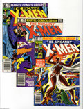 Modern Age (1980-Present):Superhero, X-Men Box Lot (Marvel, 1981-89) Condition: Average VF. This fullshort box includes approximately 110 issues ranging from #1...
