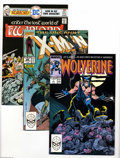 Modern Age (1980-Present):Superhero, X-Men and Wolverine Plus Box Lot (Marvel, 1980s-90s) Condition:Average VF/NM. This nearly-full short box contains many copi...