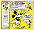 Books:Fine Press and Limited Editions, Mickey Mouse Comic Strip Reprint Book (Howard Bayliss, 1971)Condition: NM. Limited edition book reprints seven weeks of Mic...