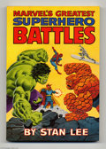 Books, Fireside Book Series: Marvel's Greatest Superhero Battles (Simon and Schuster, 1978) Condition: NM-. Softcover edition. Over...