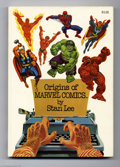 Books, Fireside Book Series: Origins of Marvel Comics (Simon and Schuster,1974) Condition: NM. Softcover. Second printing. Overstr...