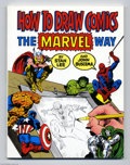 Books, How to Draw Comics the Marvel Way (Simon and Schuster, 1984) Condition: NM. By Stan Lee and John Buscema. 26th printing. Sof...