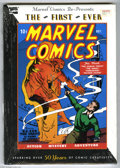 Books, Marvel Comics Re-Presents The First Ever Marvel Comics. Reprint ofMarvel Comics #1. Hardcover with dust jacket....