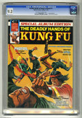 Magazines:Miscellaneous, The Deadly Hands of Kung Fu Annual #1 (Marvel, 1974) CGC NM- 9.2Off-white to white pages. Special Album Edition. Neal Adams...