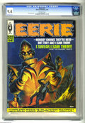 Magazines:Horror, Eerie #14 (Warren, 1968) CGC NM 9.4 Off-white pages. Wally Wood, Dan Adkins, Alex Toth, Reed Crandall, Angelo Torres, and Al...