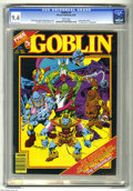 Magazines:Horror, Goblin (Magazine) #2 (Warren, 1982) CGC NM 9.4 White pages. First appearance of Hobgoblin. Eight page color insert. Rudy Neb...