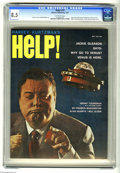 Magazines:Humor, Help! (magazine) #10 (Warren, 1961) CGC VF+ 8.5 Off-white pages.Last issue with Harvey Kurtzman's name on the cover. John F...