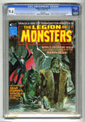 Magazines:Horror, Legion of Monsters #1 (Marvel, 1975) CGC NM+ 9.6 White pages. Neal Adams cover. Gray Morrow, Dan Adkins, Dave Cockrum, Val M...