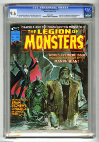 Legion of Monsters #1 (Marvel, 1975) CGC NM+ 9.6 White pages. Neal Adams cover. Gray Morrow, Dan Adkins, Dave Cockrum, V...