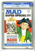 Magazines:Mad, Mad Super Special #19 Gaines File pedigree (EC, 1976) CGC NM- 9.2White pages. Don Martin art. Norman Mingo cover. Includes ...