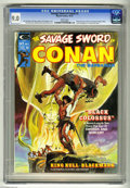 Magazines:Miscellaneous, Savage Sword of Conan #2 (Marvel, 1974) CGC VF/NM 9.0 White pages.Roy Thomas and Gil Kane stories. Neal Adams cover. John B...