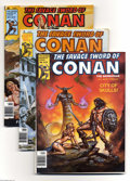 Magazines:Miscellaneous, Savage Sword of Conan Box Lot (Marvel, 1970s-80s) Condition:Average VG/FN. This full magazine box contains many, many issue...