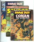 Bronze Age (1970-1979):Miscellaneous, Savage Tales and Savage Sword of Conan Group (Marvel, 1971-74)Condition: Average VF/NM. This group includes Savage Tales ... (11Comic Books)