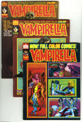 Magazines:Horror, Vampirella Magazine Group (Warren, 1973-83) Condition: Average VF. This lot consists of issues ranging from #26 and #112. (N... (50 Comic Books)