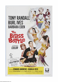 "The Brass Bottle (Universal, 1964) One Sheet (27"" X 41""). This is a vintage, theater used poster for this come..."