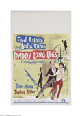 "Movie Posters:Musical, Daddy Long Legs (Twentieth Century Fox, 1955) Window Card (14"" X 22""). This is a vintage, theater used poster for this music..."
