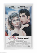 "Movie Posters:Musical, Grease (Paramount, 1978) One Sheet (27"" X 41""). This is a vintage, theater used poster for this musical that was directed by..."