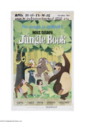 "Movie Posters:Animated, The Jungle Book (Buena Vista, 1967) Window Card (14"" X 22""). This is a vintage, theater used poster for this animation comed..."