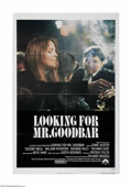 "Movie Posters:Drama, Looking for Mr. Goodbar (Paramount, 1977). One Sheet (27"" X 41""). This is a vintage, theater used poster for this mystery th..."