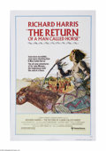 "Movie Posters:Western, The Return of a Man Called Horse (United Artists, 1976). One Sheet (27"" X 41""). This is a folded, vintage, theater used post..."