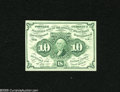 Fractional Currency:First Issue, Fr. 1242 10c First Issue New. A small pre-printing paper crease is found in the portrait....