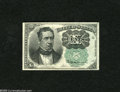 Fractional Currency:Fifth Issue, Fr. 1264 10c Fifth Issue Very Choice New. This is an appealingexample of a Green Seal Meredith. These are 20 times scarcer ...