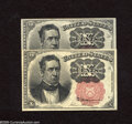Fractional Currency:Fifth Issue, Fr. 1265 Pair of 10c Fifth Issue Extremely Fine-About Uncirculated.A nice pair of lightly circulated long key Meredith note... (2notes)
