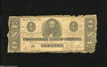 Confederate Notes:1862 Issues, T55 $1 1862. Here is a well circulated example which gradesGood....