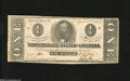 Confederate Notes:1863 Issues, T62 $1 1863. This is a nice Very Fine Confederate $1 that has somefolds and handling on the left side of the note....
