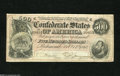 Confederate Notes:1864 Issues, T64 $500 1864. The last year of the war left this $500 with even wear. Fine-Very Fine....