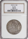 Bust Half Dollars: , 1827/6 50C AU53 NGC. O-101. NGC Census: (1/52). PCGS Population(8/56). Numismedia Wsl. Price for NGC/PCGS coin in AU53: $...