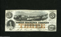 Obsoletes By State:Michigan, Adrian, MI - Adrian Insurance Company $3 Jan. 14, 1853 A great train vignette graces this lightly handled obsolete. Extre...