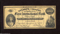 Obsoletes By State:Ohio, Cincinnati, OH- Nelson's College Currency $100 Sep. 1, 1870Schingoethe OH-180-100 This is a scarce piece of college curren...