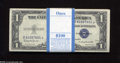 Small Size:Silver Certificates, Fr. 1618 $1 1935H Silver Certificates. Original Pack of 100. Gem Crisp Uncirculated. Here is a fully original pack from a s... (100 notes)